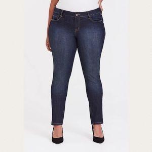 Torrid 14S curvy skinny jeans blue dark 0713